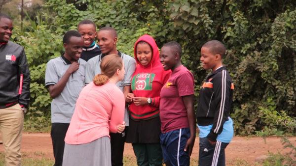 Wheaton students in Tanzania