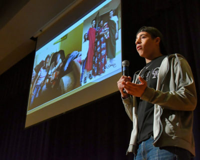 Wheaton students present experiences in Tanzania at Africa Day