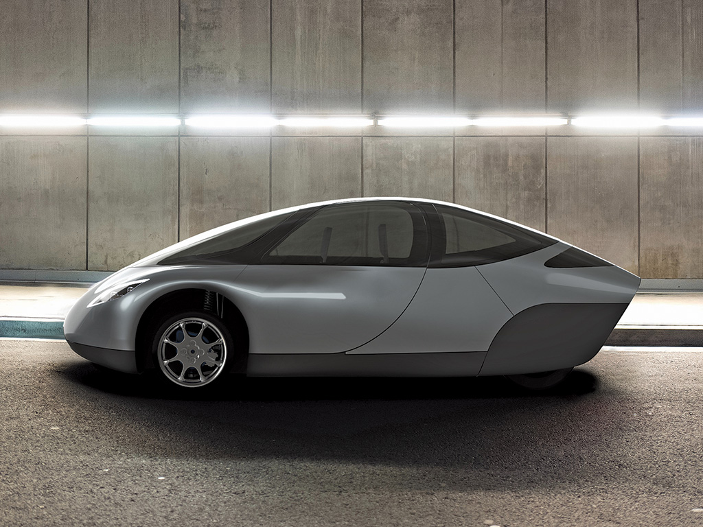 Alex Bandazian '09 was heavily involved with the design of Indigo's Draco commuter vehicle
