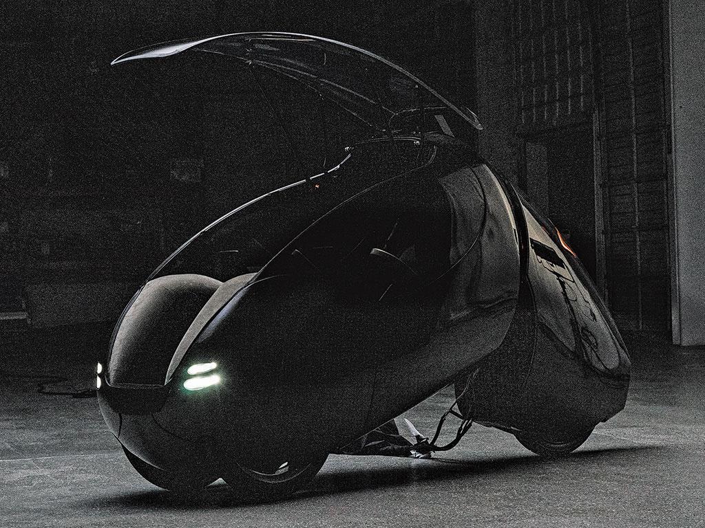 A vehicle prototype from Indigo Technologies.