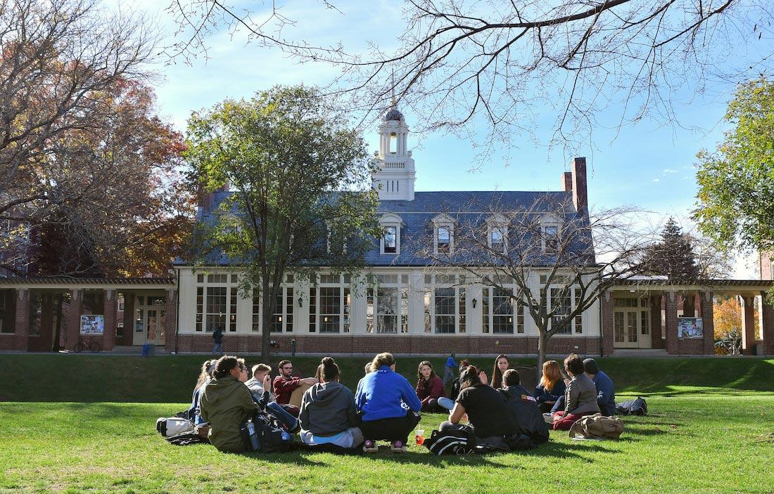 Emerson Hall - Wheaton College Massachusetts