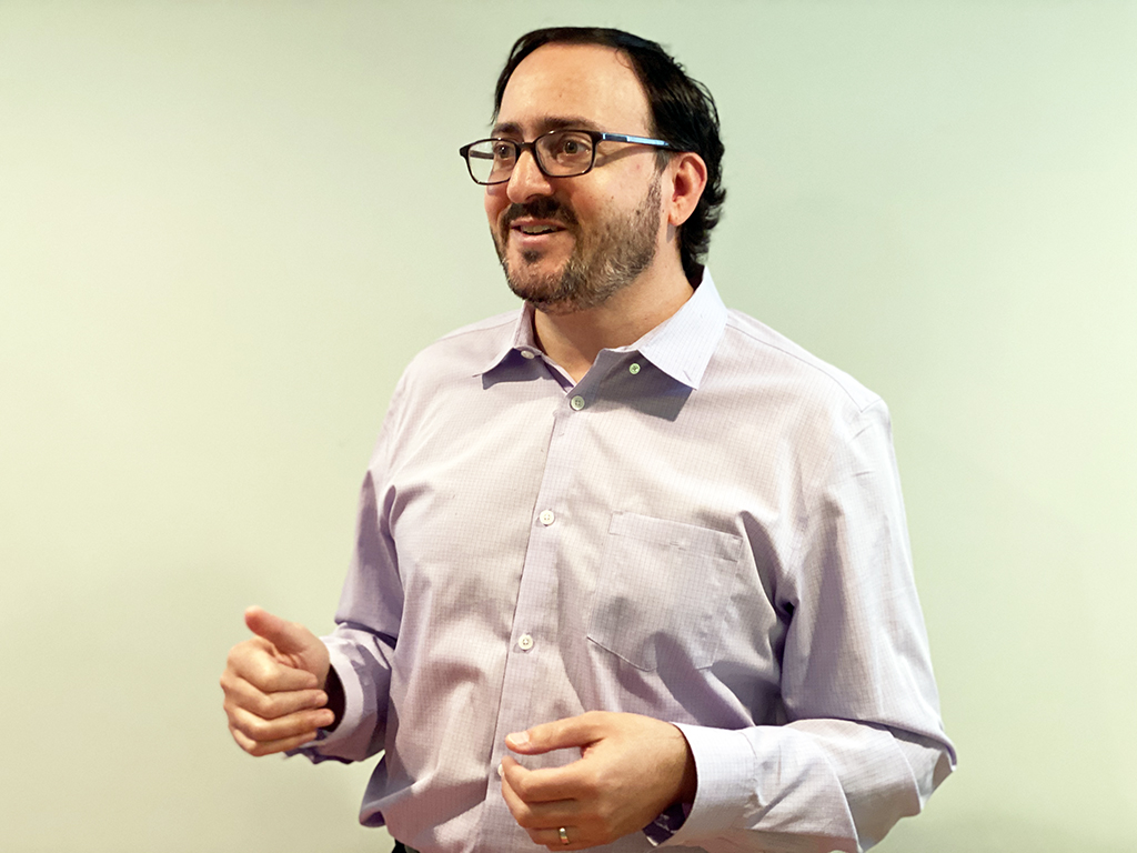 Professor of Psychology Michael Berg