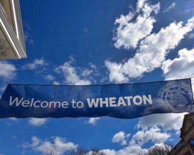 Photo of Welcome to Wheaton sign