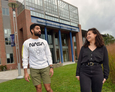 Ishaan Madan and Jillian Riveros Class of 2022