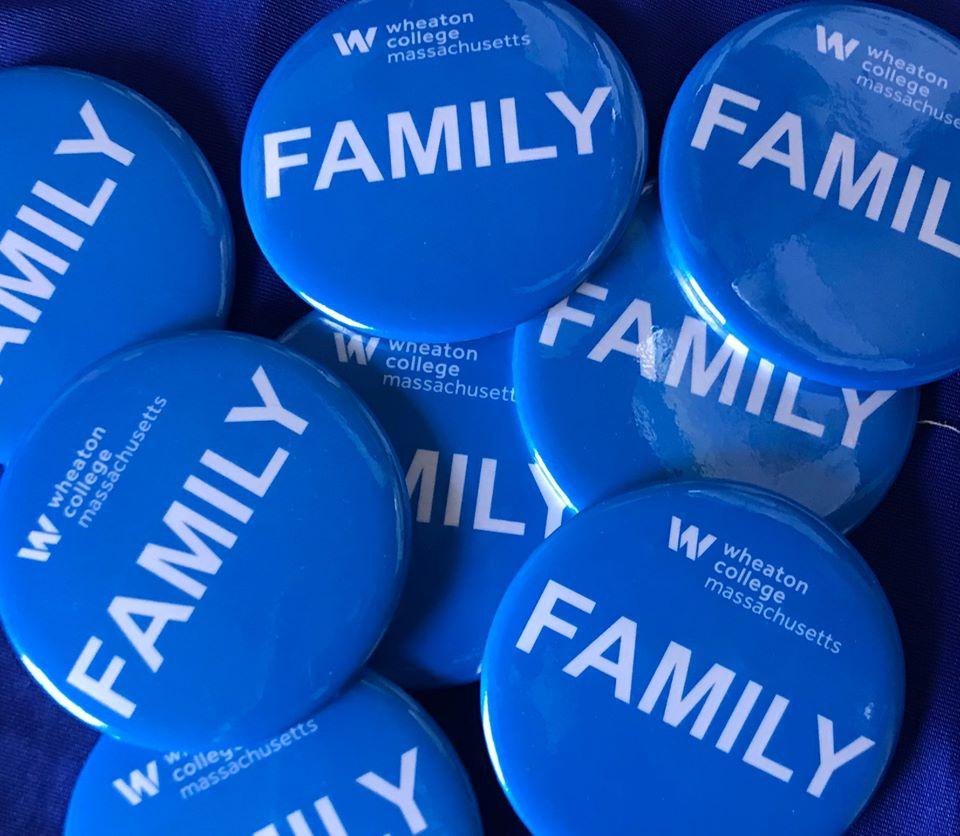 Wheaton FAMILY buttons